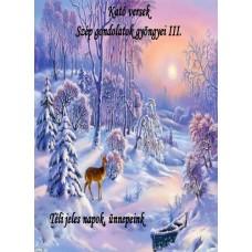 Györfiné Kató - Kató versek Szép gondolatok gyöngyei III.  Téli jeles napok, ünnepeink